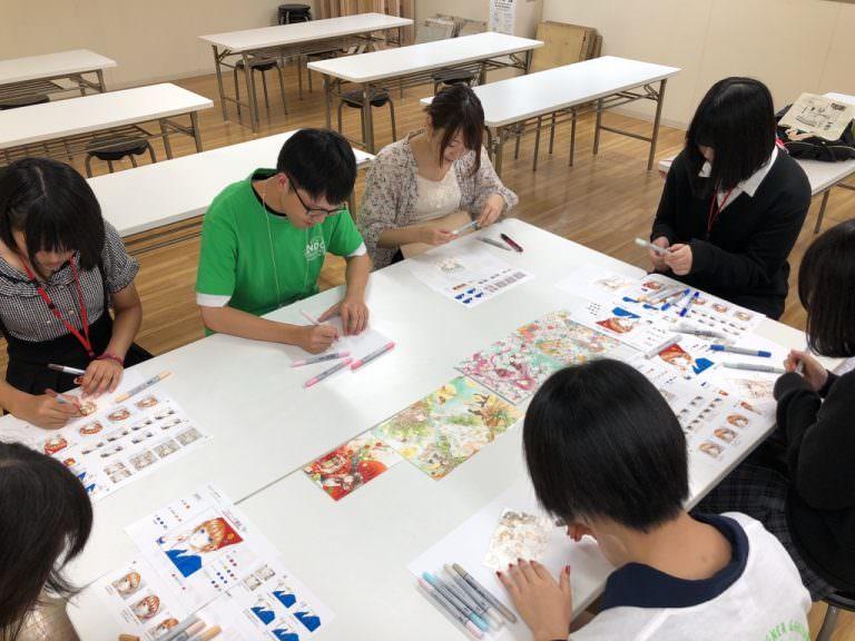 オープンキャンパスイラスト講評会を開催しました 日本デザイナー